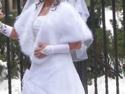 suknia ślubna 2 częściowa