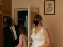 Suknia  ślubna 2-częściowa rozm.42