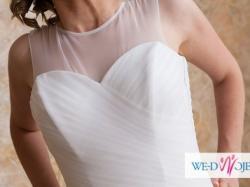 Suknia ślubna 2014 jak nowa + gratisy. Uwaga szczęśliwe małżeństwo!