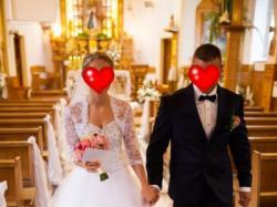 Suknia ślubna 2015 cyrkonie