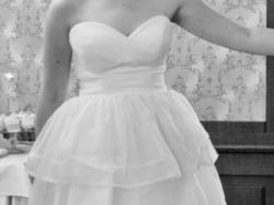 Suknia ślubna 2w1 długa i krótka- Leander Anna Kara