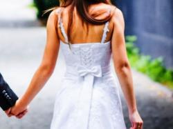 suknia ślubna 34/36 biała + bolerko