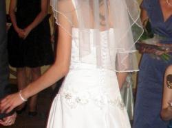 Suknia ślubna 34-38 (regulacja) polecam
