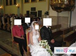 Suknia ślubna 36/38 160cm + obcas