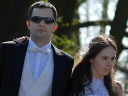 suknia ślubna 36-38-40 Sabin biała