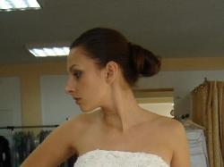 Suknia ślubna 36/38 mleczna biel, tafta + bolerko gratis WYJĄTKOWA