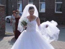 suknia slubna 36-38 piekna ksiezniczka