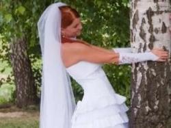 Suknia ślubna 36/38 wraz z dodatkami