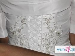 Suknia Ślubna 36/38 wzrost 180cm biała