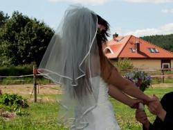 Suknia ślubna, 36, wanilia i biel, gratis bolerko