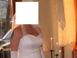 Suknia Ślubna 38/42 + welon, rękawiczki