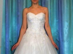 Suknia Ślubna, 38, biała