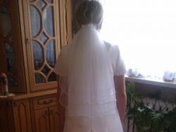 Suknia ślubna 40/42 + welon _ bolerko