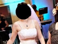 Suknia ślubna 42+bolerko+welon