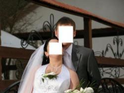 Suknia ślubna 500 zł.w tym bolerka, buty, rękawiczki..-gratis!