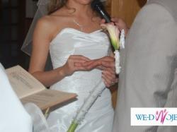 suknia ślubna-500zł.