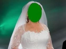 """Suknia ślubna """"Polsanta Rita 2007"""" rozm 42-44"""