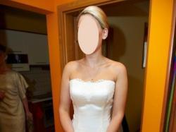 """Suknia ślubna """"Urfa"""" z salonu ślubnego Gala w Płocku – kolekcja 2012"""