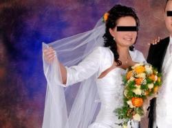 Suknia ślubna a'la hiszpanka
