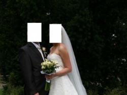 Suknia ślubna Abiu Alyce 7257 rozmiar 38 za 1500 zł – pół ceny!