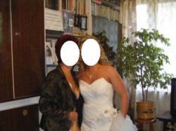 Suknia Ślubna Adelaida ecru 38