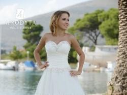 Suknia ślubna Afrodyta - model Tuberoza + Tren i Welon