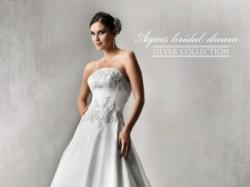 Suknia ślubna Agnes 10238 Silver Collection roz.38