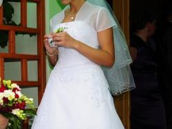 Suknia ślubna AGNES 10311 (z 2011 roku) rozm. 38/40