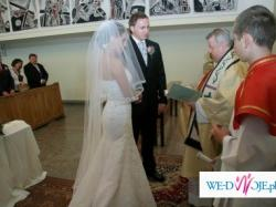 """Suknia ślubna """"Agnes 1606"""" koronkowa!!!"""