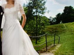 Suknia ślubna agnes, model 10238, rozmiar 36/38