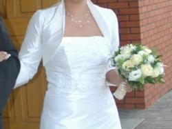 Suknia ślubna AGNES - model 1529a - rozmiar 38