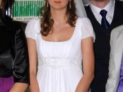 suknia ślubna AGNES model 1983 (józefinka, grecka)