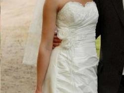 Suknia Ślubna AGNES + włoskie buty + welon