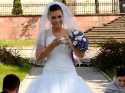 SUKNIA Ślubna Agora 10-22 księżniczka