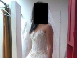 Suknia ślubna AGORA kamienie Swarovski