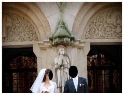 Suknia ślubna Agora, r. 38/40, koronkowa z kryształkami Swarovskiego