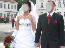 "Suknia ślubna ""AGORA"" Roz. 38"