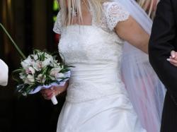 Suknia Ślubna Aiko Gala ecru + Gratis TANIO !!!
