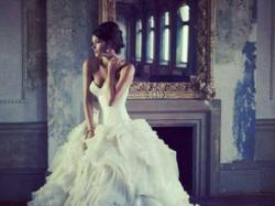Suknia ślubna ala Vera Wang 34/36 XS/S