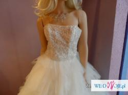 Suknia ślubna Alicja 38 ecry sprzedam