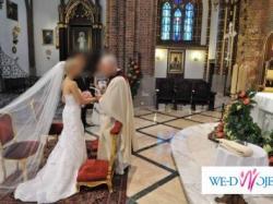 Suknia ślubna amerykańskiej firmy Sincerity 3288 rozm. 36