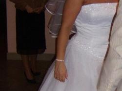 suknia ślubna amerykańskiej firmy Sincerity Brindal model 3159
