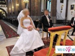 Suknia ślubna amerykańskiej firmy Sincerity roz.36