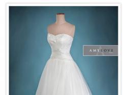 suknia ślubna AMY LOVE - ABIGALE 2014