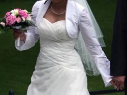 Suknia Ślubna AMY LOVE + Dodatki