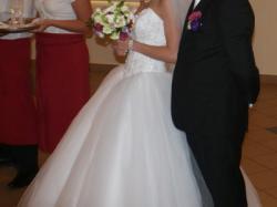 Suknia ślubna Angel Giovani + dodatki gratis