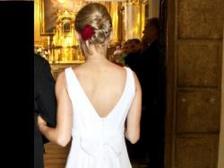 Suknia ślubna - Anja, rozmiar 34