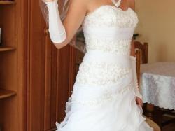 Suknia ślubna ANNAIS 09 + GRATISY