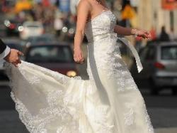 Suknia ślubna Annais Marys, wanilia/ecru, rozm. 36