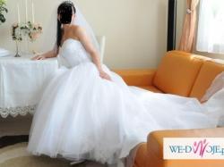 suknia ślubna Annais model Pompadour